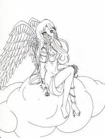 Adult Coloring Pages Angels