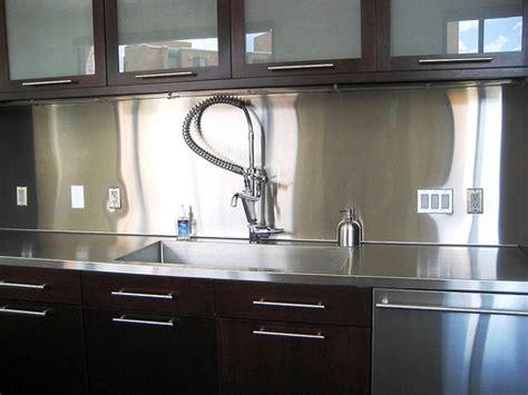 kitchen backsplash stainless steel ideas stainless steel solution for your kitchen backsplash 7702