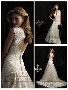 straps v neck a line wedding dresses with keyhole back With keyhole back wedding dresses