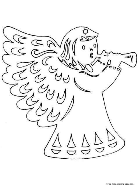 prinable christmas coloring pages cut outs  kidsfree
