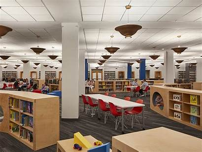 Library Children Libraries Coolest Hughes Chicago Childrens