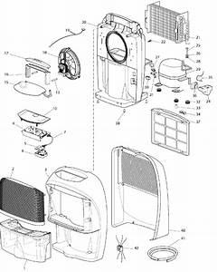 Delonghi Dec180e Dehumidifier Spares