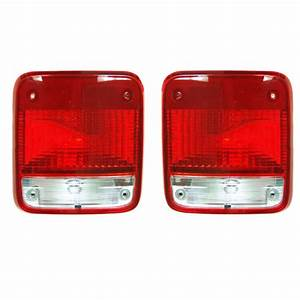 New Pair Of Tail Lights Fits Chevrolet G10 G20 1985