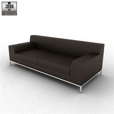 Kramfors Sofa Cover 3 Seat by Ikea Kramfors Three Seat Sofa 3d Model Hum3d
