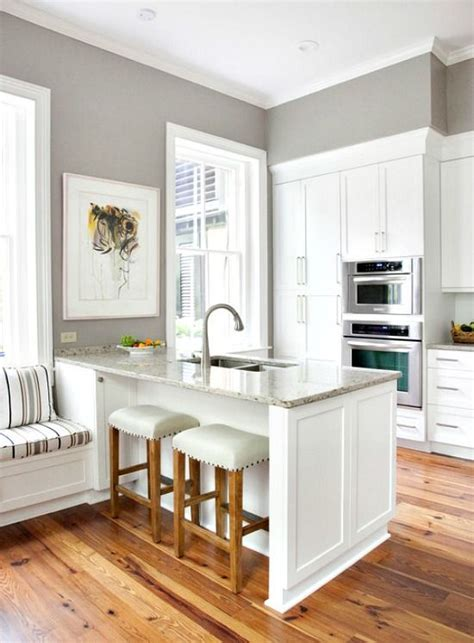 Kitchen Island Vs Peninsula Like The Crisp,clean Look Of
