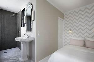 Petite Salle De Bain Ouverte Sur Chambre : d co salle de bain les ambiances qu 39 on aime c t maison ~ Melissatoandfro.com Idées de Décoration