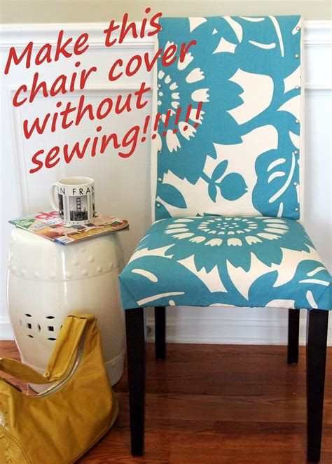 diy dining room chair covers easy sew dining chair