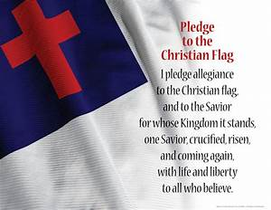 Pledge to the Christian Flag   Becky Dvorak -- Healing And ...
