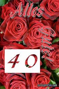 40 Hochzeitstag (Rubinhochzeit)