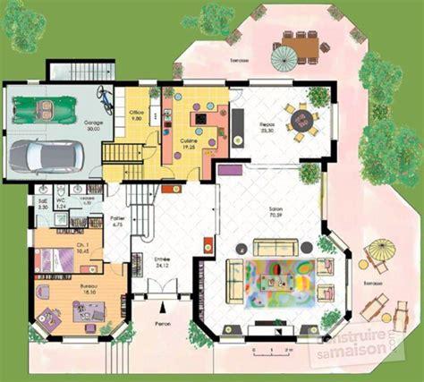 maison 2 chambres cuisine divinement plan d une maison plan d 39 une maison d