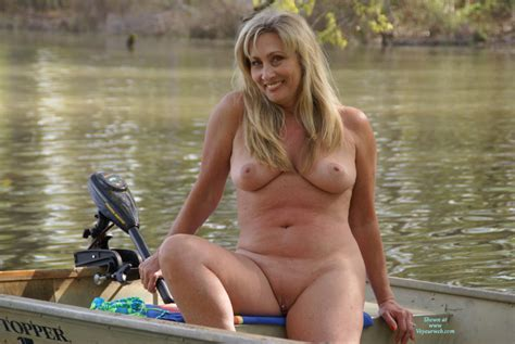 Nude Wife Wana Go Fishin Exposed In Public