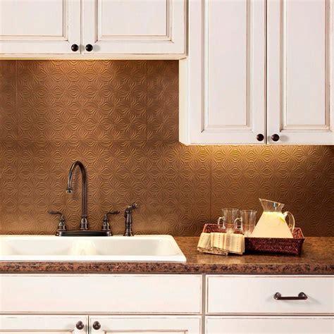 decorative backsplashes kitchens fasade 24 in x 18 in lotus pvc decorative tile