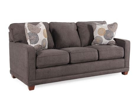 La Z Boy Sofa by La Z Boy Kennedy Granite Sofa Mathis Brothers Furniture