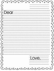 who39s who and who39s new easy prep writing centers With letter writing template for first grade