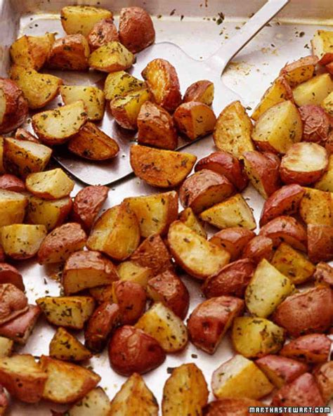 potato revipes oven roasted red potatoes recipe dishmaps