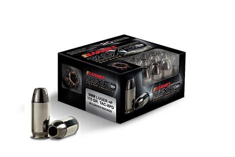 barnes tac xpd barnes tac xpd defense handgun ammunition 9mm luger p