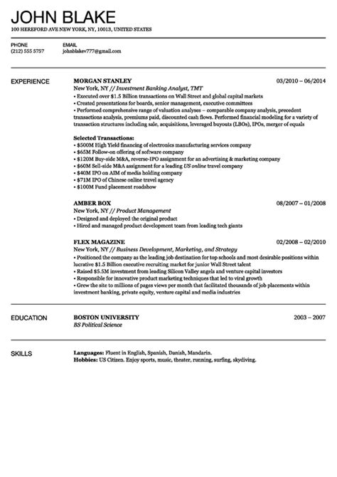 Free Resume Builder by Free Resume Builder Printable Simple Resume Template