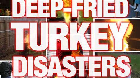 deep turkey fried