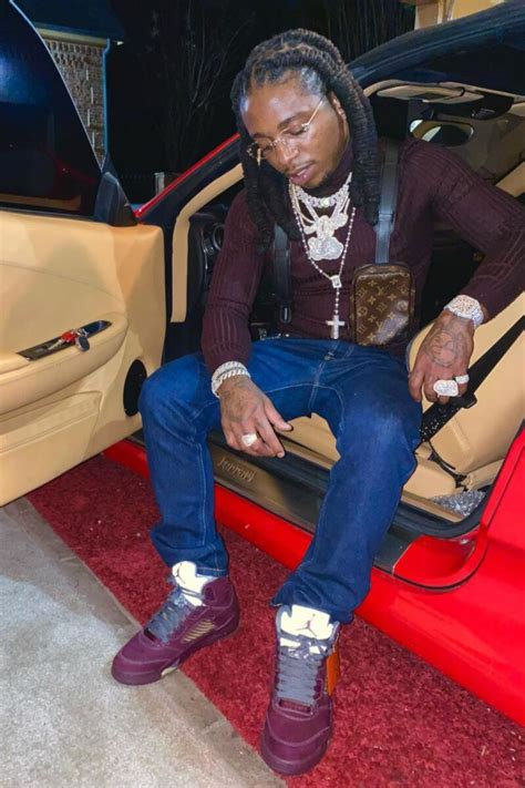 jacquees wearing  louis vuitton harness bag  jordan  sneakers incorporated style