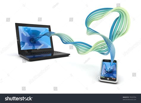 Synchronize Information Stock Photo 79520704