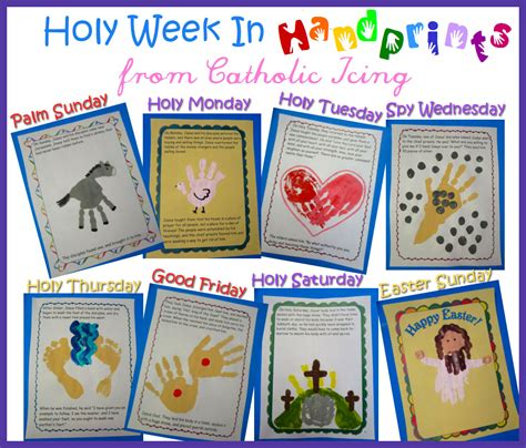 holy week craft ideas holy week in handprints a craft for every day of holy week 4685