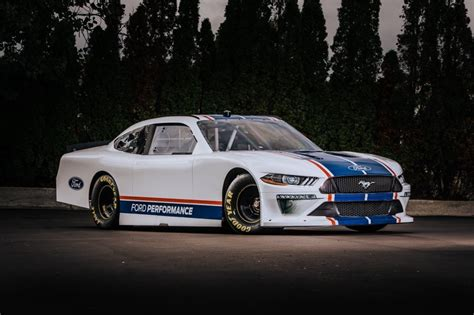 ford unveils    nascar xfinity series mustang