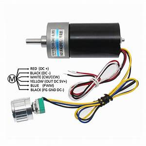 Gm37 Bl3650 Brushless Dc Motor With Stepless Speed Control