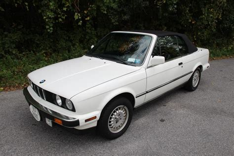 Bmw 325i Convertible For Sale by No Reserve 1989 Bmw 325i Convertible 5 Speed For Sale On