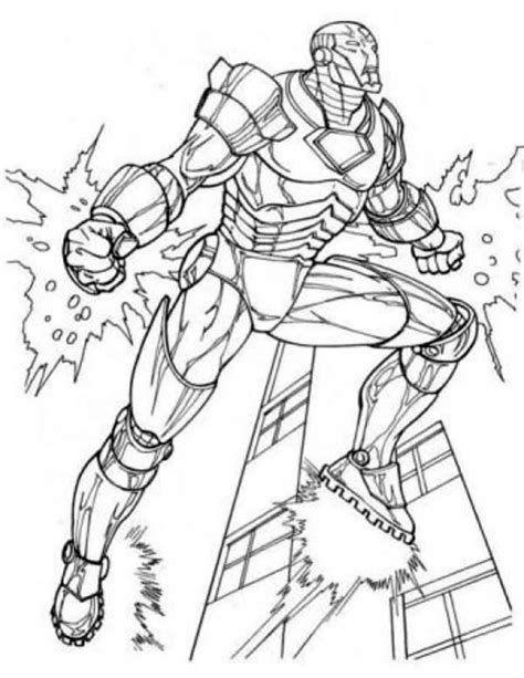 avengers iron man coloring pages coloring pages