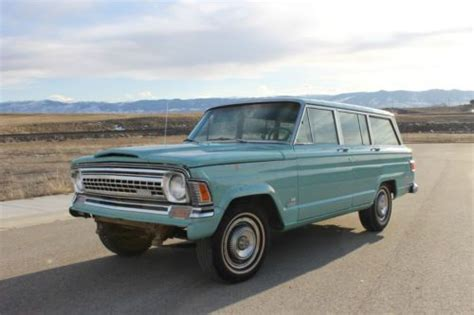 1971 jeep wagoneer buy used 1971 jeep wagoneer 62k original miles 350 buick