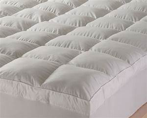Feather mattress topper review top 3 feather toppers for Best down mattress pad