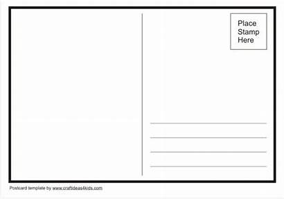 Postcard Template Printable Own Postcards Templates Geography
