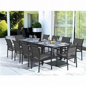 Leclerc Table De Jardin : table de jardin verre leclerc ~ Teatrodelosmanantiales.com Idées de Décoration