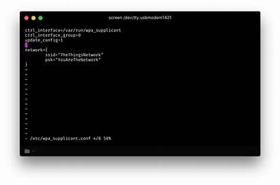 Network Wi Fi Supplicant Wpa Configure Configuring