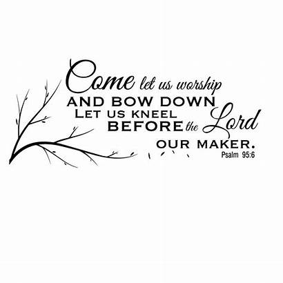 Psalm 95 Worship Let Down Bow Friday