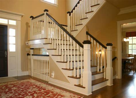 farmhouse staircase traditional  wood railing area