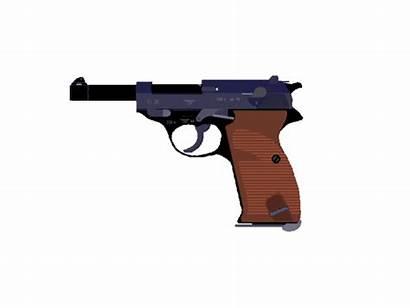 Clipart Animated Pistol Gun Transparent Gifs Clip