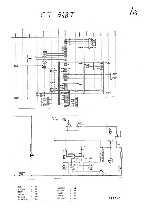 diagrama electrico de lavarropas ct548t carga superior yoreparo
