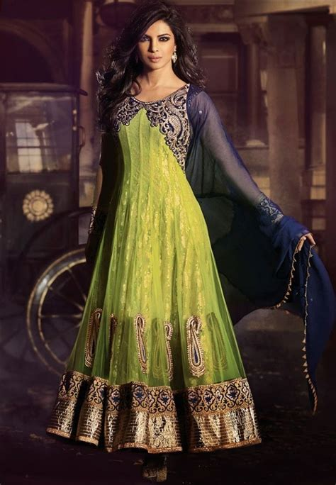 indian  pakistani frock designs latest fashion