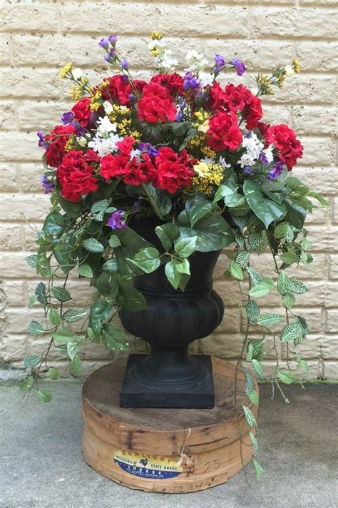 urn inserts simply southern flowers