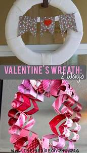 Valentines Day Wreath: 2 Ways • The Inspired Home