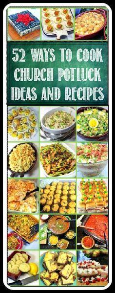 50 Cheap Potluck Recipes For Church Potlucks, Office