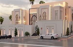 Modern, Arabic, Villa, Architectural, Design