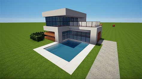 Minecraft Kleines Modernes Haus Bauen Tutorial [haus 95