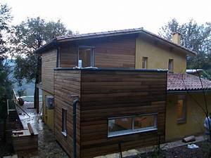 Extension Ossature Bois : extension ossature bois boiseco construction maisons a ~ Melissatoandfro.com Idées de Décoration