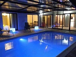 grande villa 12 pers piscine privee couverte et With location villa piscine couverte chauffee