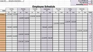 9 best images of printable employee monthly work schedule for Multiple employee schedule template