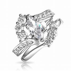 15 best ideas of platinum cubic zirconia wedding rings With platinum cubic zirconia wedding rings