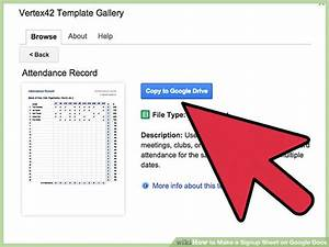 How to make a signup sheet on google docs with pictures for Www google docs sign in