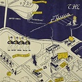 Map, Maryland, Pictorial, US Naval Academy, Annapolis ...